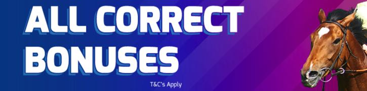 Betfred's All Correct Bonuses