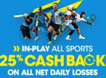 BetBright In Play Cashback