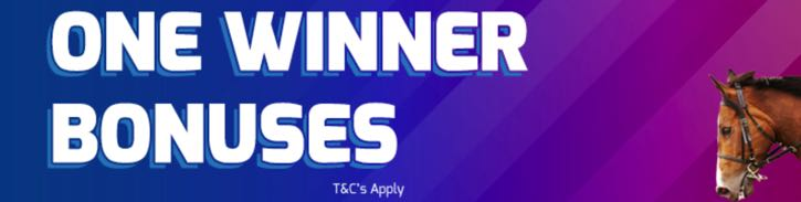 Betfred's One Winner Bonuses